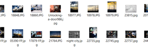 Import many images at once